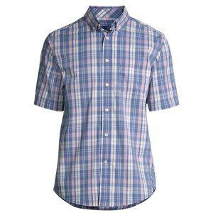 George Mens & Big Mens Button Down Short Sleeves